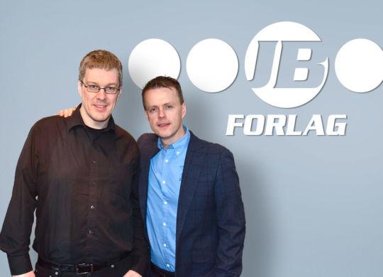 Per Mork (t.v.) og John Berge.